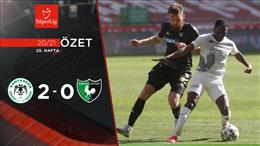 ÖZET | İH Konyaspor 2-0 Y. Denizlispor