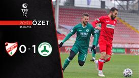 ÖZET   B. Boluspor 0-1 Giresunspor