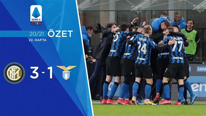 ÖZET   Inter 3-1 Lazio