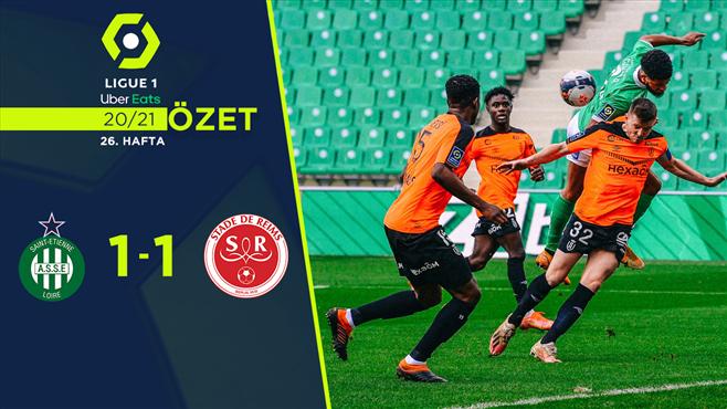 ÖZET | Saint-Etienne 1-1 Reims