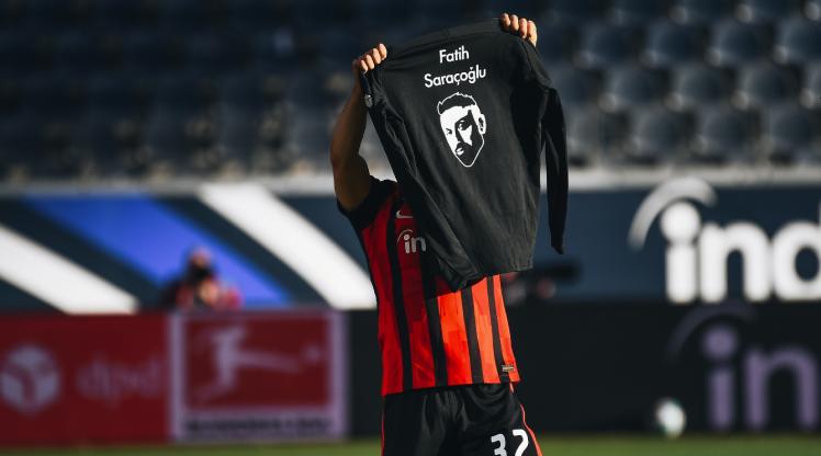 Younes golünü Fatih Saraçoğlu'na adadı