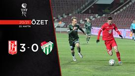 ÖZET | AE Balıkesirspor 3-0 Bursaspor