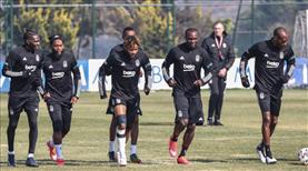 Beşiktaş çalışmalarına devam ediyor