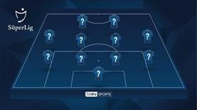 İşte Süper Lig'de 26. haftanın en iyi 11'i