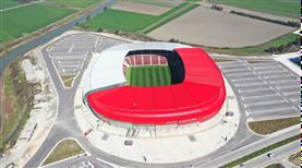 Hatayspor yeni stadına kavuşmak için gün sayıyor