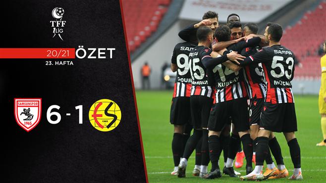 ÖZET | Y. Samsunspor 6-1 Eskişehirspor