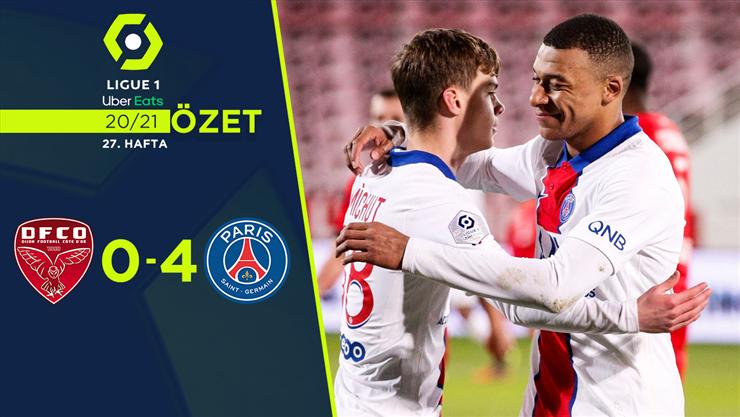 ÖZET | Dijon 0-4 PSG