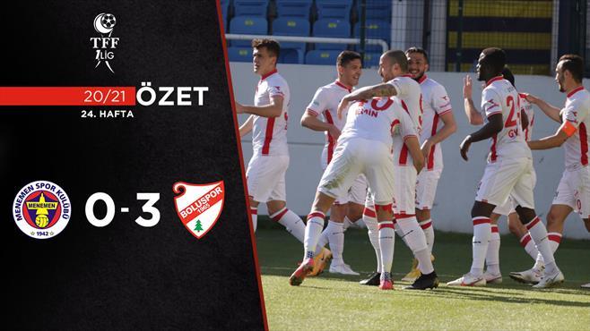 ÖZET   Menemenspor 0-3 B. Boluspor