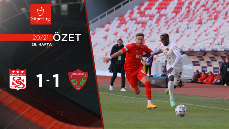 ÖZET | DG Sivasspor 1-1 A. Hatayspor