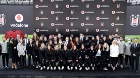 Vodafone, Beşiktaş Kadın Futbol Takımı'na sponsor oldu