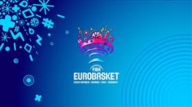 FIBA Avrupa Şampiyonası kura çekimi 29 Nisan'da yapılacak