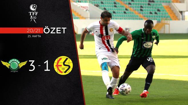 ÖZET | Akhisarspor 3-1 Eskişehirspor