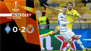 ÖZET   Dinamo Kiev 0-2 Villarreal