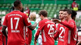 Lider Bayern, Bremen'den 3 puanla döndü