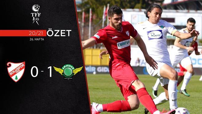 ÖZET   Beypiliç Boluspor 0-1 Akhisarspor
