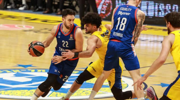 Maccabi Playtika 66-90 Anadolu Efes