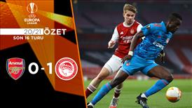 ÖZET | Arsenal 0-1 Olympiakos