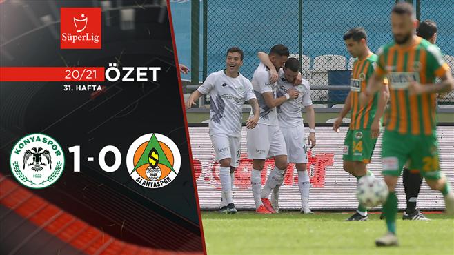 ÖZET | İ.H. Konyaspor 1-0 A. Alanyaspor