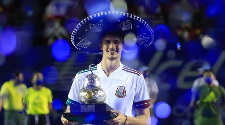 Meksika Açık'ta şampiyon Zverev