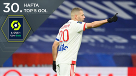 İZLE   Fransa'da haftaya damga vuran 5 gol