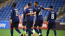 Fransa maç fazlasıyla lider