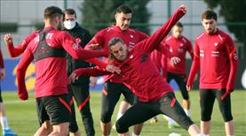 A Milli Takım, Letonya maçına hazır