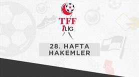 TFF 1. Lig'de haftanın hakemleri belli oldu
