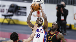 76ers, Cedi'nin takımı Cavaliers'ı rahat geçti