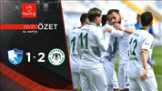 ÖZET | BB Erzurumspor 1-2 İH Konyaspor