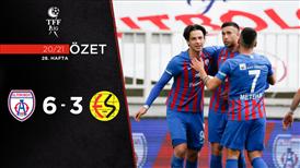 ÖZET   Altınordu 6-3 Eskişehirspor