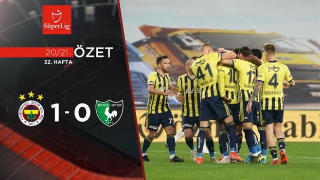 ÖZET | Fenerbahçe 1-0 Yukatel Denizlispor