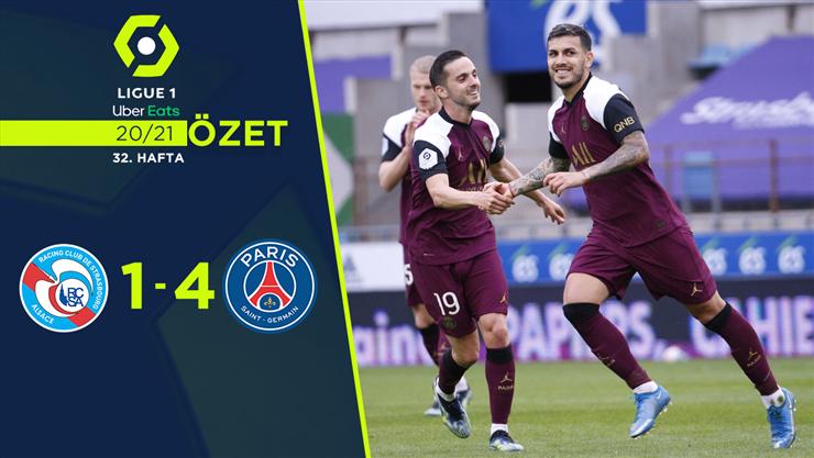 ÖZET | Strasbourg 1-4 PSG