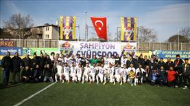 Eyüpspor ile Manisa, TFF 1. Lig'e yükseldi