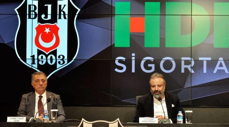Beşiktaş'ta sponsorluk anlaşması