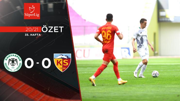 ÖZET | İH Konyaspor 0-0 HK Kayserispor