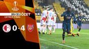 ÖZET   Slavia Prag 0-4 Arsenal