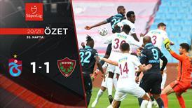 ÖZET | Trabzonspor 1-1 A. Hatayspor