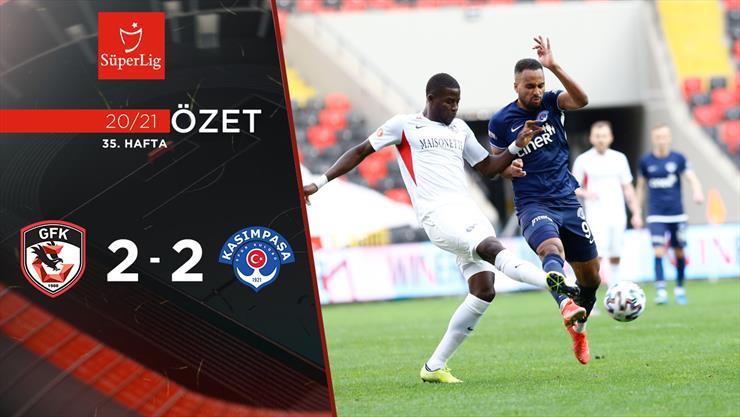 ÖZET | Gaziantep FK 2-2 Kasımpaşa