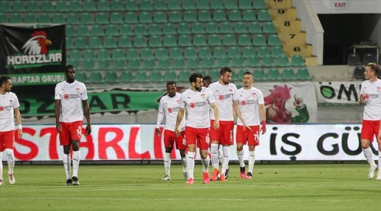 DG Sivasspor'un yenilmezlik serisi 14 maça çıktı