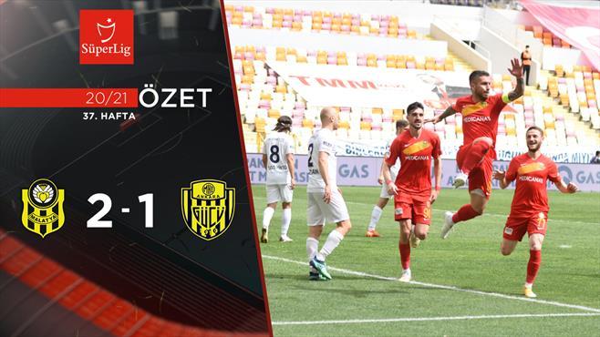 ÖZET | H. Yeni Malatyaspor 2-1 MKE Ankaragücü
