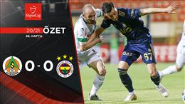 ÖZET | Aytemiz Alanyaspor 0-0 Fenerbahçe