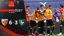 ÖZET | Kayseri'de sezonun en gollü maçı!