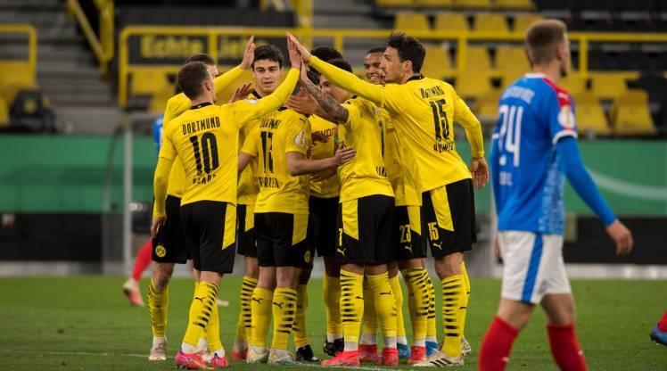 Dortmund, Almanya Kupası'nda finalde