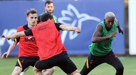 Galatasaray'da eksikler takıma katıldı