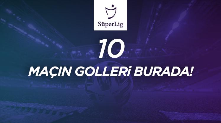 İZLE | 40. haftada atılan tüm goller