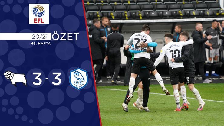 ÖZET | Derby County 3-3 Sheffield Wednesday