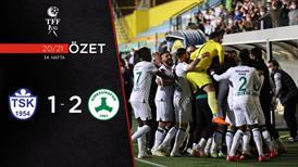 ÖZET | Tuzlaspor 1-2 GZT Giresunspor