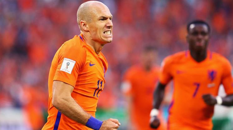 Robben'in hedefi EURO 2020