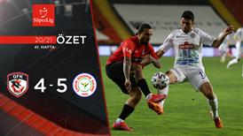 ÖZET   Gaziantep FK 4-5 Ç. Rizespor