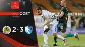 ÖZET | A. Alanyaspor 2-3 BB Erzurumspor